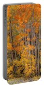 Aspen Forest In Fall - Wasatch Mountains - Utah Portable Battery Charger