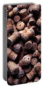 Assorted Champagne Corks Portable Battery Charger by Garry Gay
