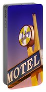 Astro Motel Retro Sign Portable Battery Charger