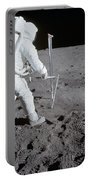 Astronaut During Apollo 11 Portable Battery Charger