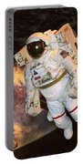 Astronaut In A Space Suit Portable Battery Charger