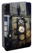 Astronomical Clock At Night Portable Battery Charger