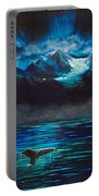 At Play Under The Glacier Portable Battery Charger