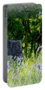 At Rest Portable Battery Charger by Marilyn Wilson