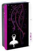 At The Ballet Triptych 2 Portable Battery Charger