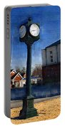 Athens Alabama City Clock Portable Battery Charger
