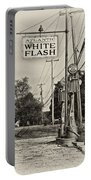 Atlantic White Flash Portable Battery Charger
