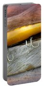 Atom A40 Vintage Saltwater Lure - Whiting Gold Portable Battery Charger