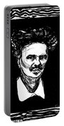 August Strindberg Portable Battery Charger