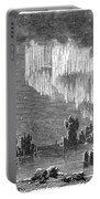Aurora Borealis, 1868 Portable Battery Charger