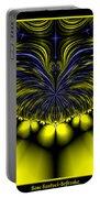 Aurora Borealis Dreams Fractal 58 Portable Battery Charger