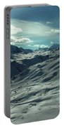 Austria Snow Mountain Portable Battery Charger