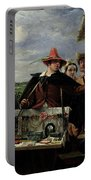 Autolycus Scene From 'a Winter's Tale' Portable Battery Charger