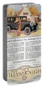 Automobile Ad, 1926 Portable Battery Charger