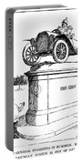 Automobile Cartoon, 1914 Portable Battery Charger