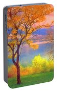 Autum Morning Portable Battery Charger