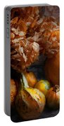 Autumn - Gourd - Still Life With Gourds Portable Battery Charger by Mike Savad