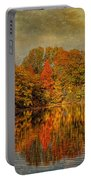 Autumn - Landscape - Tamaques Park - Autumn In Westfield Nj  Portable Battery Charger