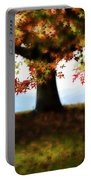 Autumn Acorn Tree Portable Battery Charger