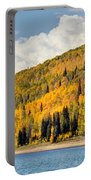 Autumn At Huntington Reservoir - Wasatch Plateau - Utah Portable Battery Charger
