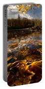 Autumn At Ragged Falls Portable Battery Charger