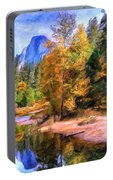 Autumn At Yosemite Portable Battery Charger