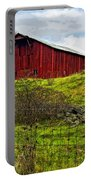 Autumn Barn Painted Portable Battery Charger