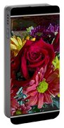 Autumn Boquet Portable Battery Charger