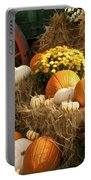 Autumn Bounty Portable Battery Charger by Kathy Clark