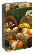 Autumn Bounty Vertical Portable Battery Charger