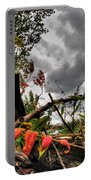 Autumn Breeze Through The Trees Portable Battery Charger