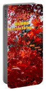 Autumn Celebration Portable Battery Charger