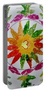 Autumn Chakra Portable Battery Charger by Sonali Gangane
