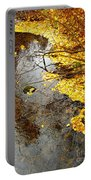 Autumn Collage Portable Battery Charger