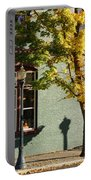 Autumn Detail In Old Town Grants Pass Portable Battery Charger