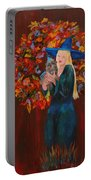 Autumn Fantasy Portable Battery Charger