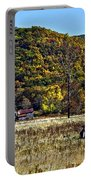 Autumn Farm Painted Portable Battery Charger