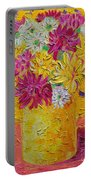 Autumn Flowers 4 Portable Battery Charger