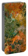 Autumn Forest Tree Tops Abstract Portable Battery Charger