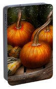 Autumn - Gourd - Pumpkins And Some Other Things  Portable Battery Charger