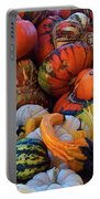 Autumn Harvest Portable Battery Charger by Carol Cavalaris
