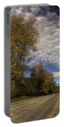 Autumn Highway Portable Battery Charger