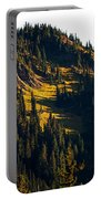 Autumn In A High Mountain Meadow Portable Battery Charger
