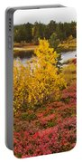Autumn In Inari Portable Battery Charger