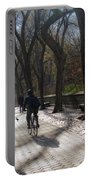 Autumn In New York 1 Portable Battery Charger