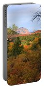 Autumn In Red Rock Canyon Portable Battery Charger