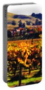 Autumn In The Valley 2 - Digital Painting Portable Battery Charger