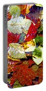 Autumn In Water Portable Battery Charger