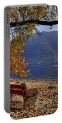 Autumn Portable Battery Charger by Joana Kruse