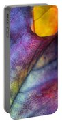 Autumn Leaf Abstract 2 Portable Battery Charger